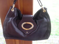 QUALITY  SOFT BROWN  LEATHER    RI2K SLOUCHY  BAG