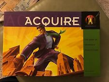 Complete Acquire Avalon Hill 1999 Board Game Missing Manual but Available Online