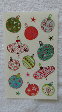 Mrs Grossman MERRY ORNAMENTS Giant Sticker Sheet