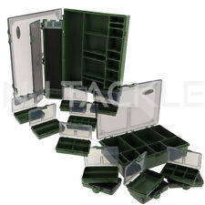 NEW NGT Carp Fishing Large System Tackle Box & Medium Standard Tackle Box Set !!