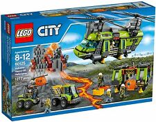 LEGO® City 60125 Vulkan-Schwerlasthelikopter_ NEW Volcano Heavy-lift Helicopter