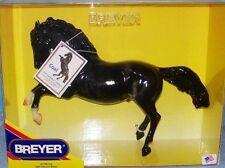 Breyer Model Horses Black Dapple Fighting Stallion Coal
