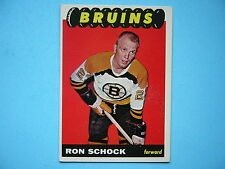 1965/66 TOPPS NHL HOCKEY CARD #36 RON SCHOCK EX/NM SHARP!! 65/66 TOPPS