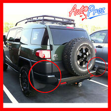 06-16 Toyota FJ Cruiser Genuine OEM Trail Team Rear Bumper Corner Cover Guards