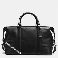 $695 NWT COACH Men's Voyager Sport Calf Leather DUFFLE Travel Bag F54765