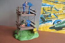 Scalextric TV tripulación de Cámara + base F302 1961 Para Pistas de Carrera Fleischmann NINCO