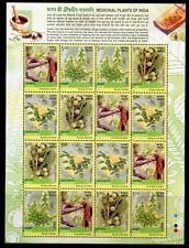 INDIEN INDIA 2003 Heilpflanzen Medicinal Plants Kleinbogen 1954-57 ** RAR