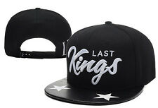 New Fashion Last Kings baseball Snapback Hip-Hop adjustable bboy Hat cap Black