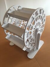 Candy Cart Ferris Wheel,New,Flatpack,60cm High,FreeSign,Tongs,Scoop & Sweet Bags