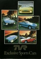 Tvr wedge 280i 350i 390SE sales brochure - 1980s