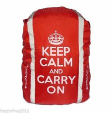 CYGLOVE Hi-Vis Reflective Hump Backpack Bag Rucksack Cover Keep Calm and Carry O