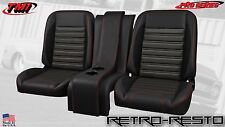 """1967-87 Chevy Pickup - """"Sport R"""" Seat Complete Bucket Seat Kit w/ Console CUSTOM"""