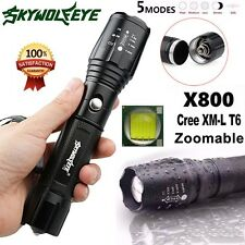 Tactical Police 8000Lumens LED Flashlight G700 X800 Military Aluminum Torch Lamp
