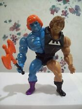 1980's MOTU Custom Action Figure of Faker & Wun-Dar Wonder Bread Savage He-Man