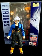 "Bandia Dragon Ball Z S.H.Figuarts 5"" Action Figure TRUNKS Premium Color Edition"