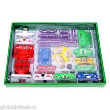 Snap Circuits Electronics Discovery Kit Science Educational Kids Study Toy Gift