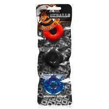 Oxballs The Ringer 3 Pack Stack-em Ball Stretcher Rings/C-rings MULTI