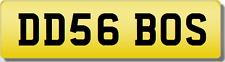 DD DDS THE BOSS! 6  Private CHERISHED Registration Number Plate