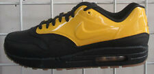 Men's Nike Air Max 1 VT QS Sneakers, New Blk Yellow Sport Lif Walking Shoes 10.5