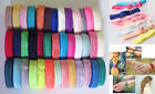 ♕3 Metres 15mm Super Soft Shiny Foldover Elastic for headbands Hair Accessories♕