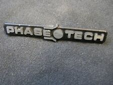 PHASE TECH GRILL BADGE/ EMBLEM/ LOGO