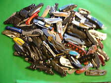 NTSA LOT OF 115+  MIXED BRANDS AND TYPES OF  POCKET KNIVES 19+ POUNDS