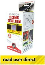 E-Tech Technik Detail Film 10cmx1m 3D Carbon Effect - Cars / Bikes