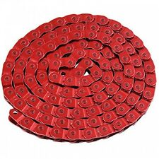 RED Half 1/2 Link BMX / Fixie / Single Speed Bike Chain  - Free Delivery