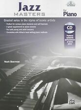 Masters for Piano: Jazz Masters for Piano : Graded Solos in the Styles of Ico...