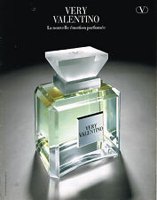 PUBLICITE ADVERTISING 114  1999  VALENTINO  parfum VERY