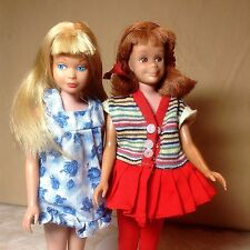 VINTAGE Mattel  Skipper and Skooter Two Great Friends