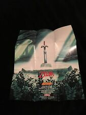 The Legend of Zelda: A Link to the Past Super Nintendo SNES Promotional Poster