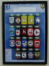 NSWRL / ARL  1993 Distributor's Stubbie Holder advertising flyer - Framed