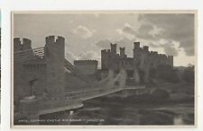Wales, Conway Castle & Bridge, Judges Postcard, A828