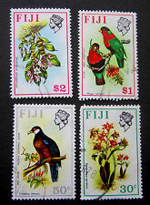 FIJI  SMALL SELECTION #316/318-20 vf USED HIGH VALUES SG#446/448-50 BIRDS/FLOWER