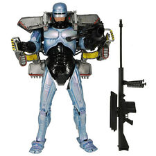 NECA ROBOCOP ULTRA DELUXE JETPACK ASSAULT CANNON  ACTION FIGURE MOVIE 7 INCH