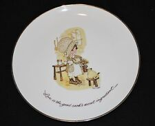 Vintage Holly Hobby Classics Edition Porcelain Plate Good Cook's Secret