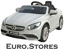 Mercedes-Benz Coupe S63 AMG Electric Kids Ride On Car White Genuine Best Gift