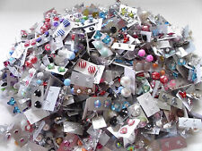 *SPECIAL OFFER * WHOLESALE LOT STUD EARRINGS 50 PAIRS