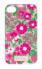 LILLY PULITZER IPhone 4 4S GARDEN BY THE SEA Mobile Cell Phone Pink Cover Case N