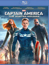 Captain America: The Winter Soldier (Blu-ray Disc, 2014)  **new/factory sealed**