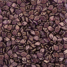Czech Dragon® Scale 5mm Glass Seed Beads Crystal GT Regal 9g (M36/6)