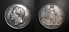 Napoléon III - Médaille en argent - Chambre de commerce Lille