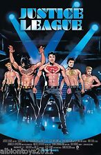JUSTICE LEAGUE VOL.2 #40 MAGIC MIKE MOVIE POSTER VARIANT DC COMICS FIRST PRINT