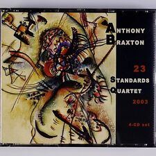 ANTHONY BRAXTON: 23 Standards Quartet 23 Leo LIMITED EDITION 4x CD
