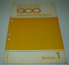 Werkstatthandbuch Saab 900 Service Schmierung Spezialwerkzeuge Unterboden Rost!