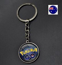 Boy Girl Kid Go Pokemon Pikachu bag Key Ring Keyrings Holder Easter Gift him