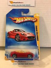Ferrari California #38 * RED * 2009 Hot Wheels * L15