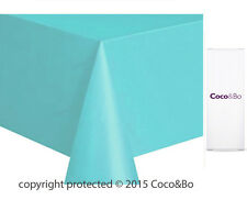 Coco&Bo 1 x Breakfast at Tiffany Blue Plastic Table Cover Party Decorations