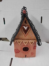 BIRD HOUSE HANGING WITH CHAIN MADE OF PLASTIC